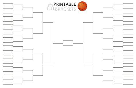 printable 4 team bracket single elimination tournament
