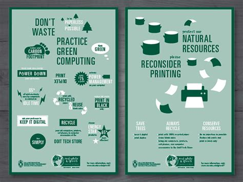 Green Computing Research Project Essays by Green Computing On Behance