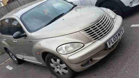 car engine manuals 2003 chrysler pt cruiser user handbook chrysler pt cruiser beige manual petrol 2003 1 year mot 79000miles