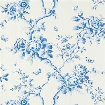 Wallpaper Dinding Motif Saphire Sp881606 ralph inredning and floral on