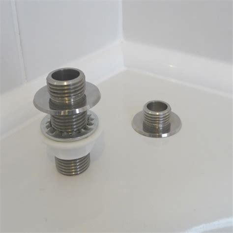 bath shower adaptor through bath shower hose adapter