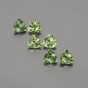 Green Saphire 14 2ct green sapphire 2ct trillion from madagascar gemstones