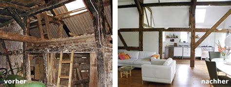altes haus renovieren vorher nachher stall
