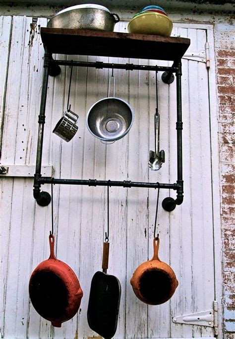 Pipe Pot Rack by Pot Rack Industrial Pipe Industrial House And