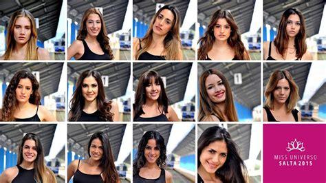 imagenes de miss universo argentina 2015 eleg 237 a la candidata de la gente del concurso miss
