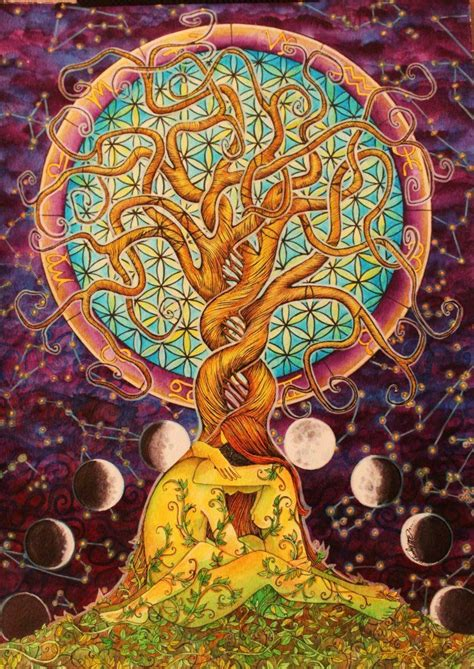 tree of life tree of life flower of life fine art pinterest tree