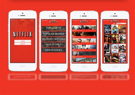 design app download netflix app designs 10 psd eps format download free