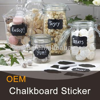 Blackboard Stickers For Jars