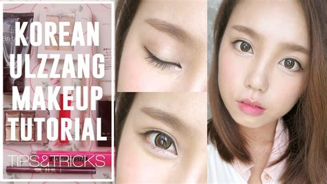 download video tutorial make up ulzzang korea how to korean ulzzang uljjang makeup ft aegyo sal with