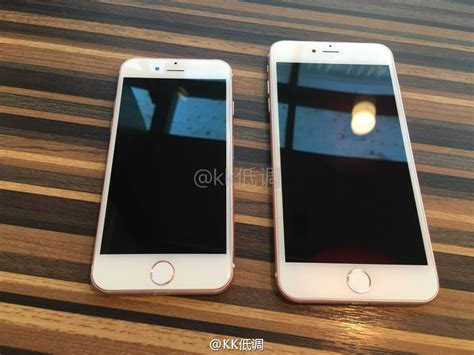 Devia Iphone 7 7 Plus iphone 7 and iphone 7 plus leaked units show dual cameras more