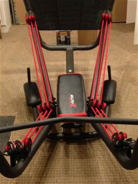 weider x factor home espotted