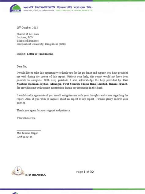 thank you for your support letter image collections letter format