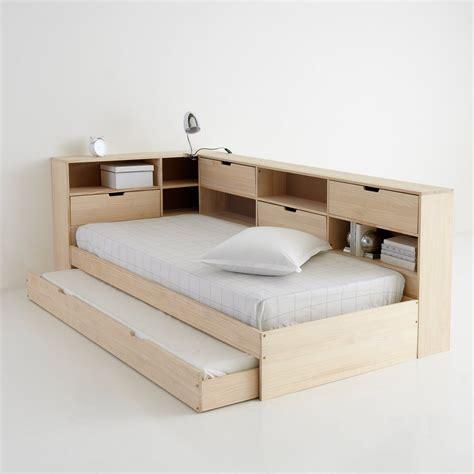 sommier tiroir lit avec tiroir 233 tag 232 res et sommier pin massif yann la