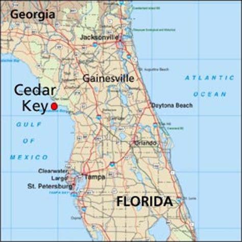 where is cedar key florida interactive map of cedar