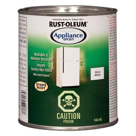 Rust Oleum 946ml White Specialty Appliance Epoxy   Lowe's