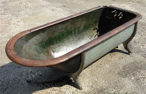 antique copper bathtub for sale tubs and toilets recycling the past architectural salvage
