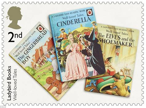 loved books ladybird book sts are issued by royal mail daily mail