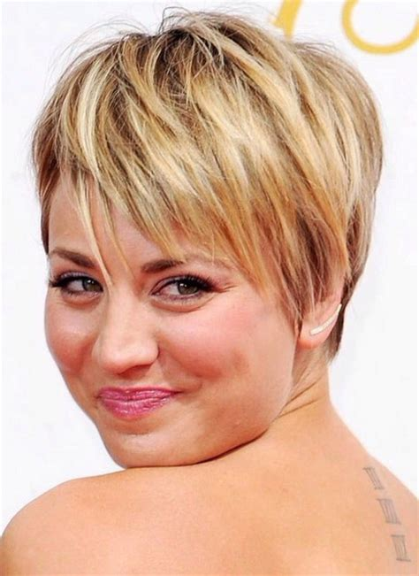 short haircuts for fine hair and round face 2016 short hairstyles for round faces