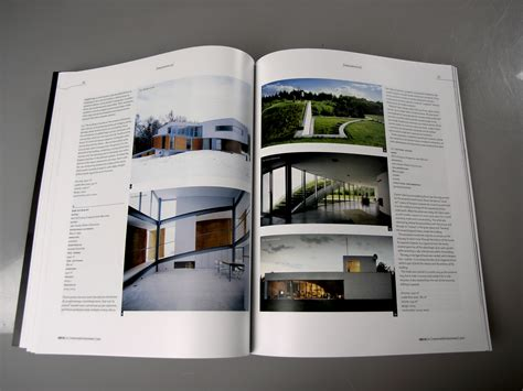 layout magazine architecture architecture layout modern house