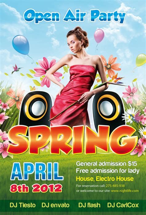 templates psd party 10 free party flyer psd templates mashmag