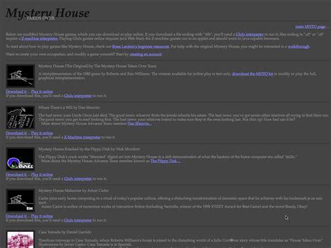 house taken over mystery house taken over elmcip