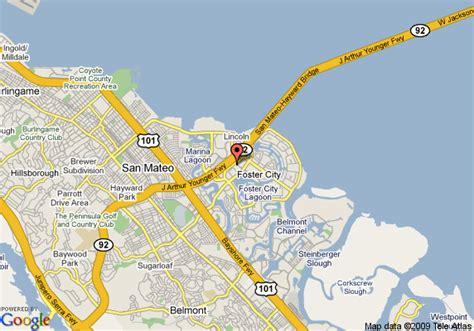 foster city california map courtyard san mateo foster city san mateo deals see