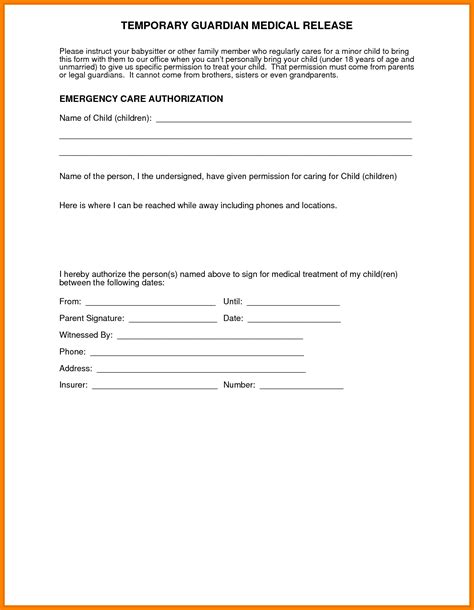 consent letter questionnaire 14 free printable child consent form letter format for