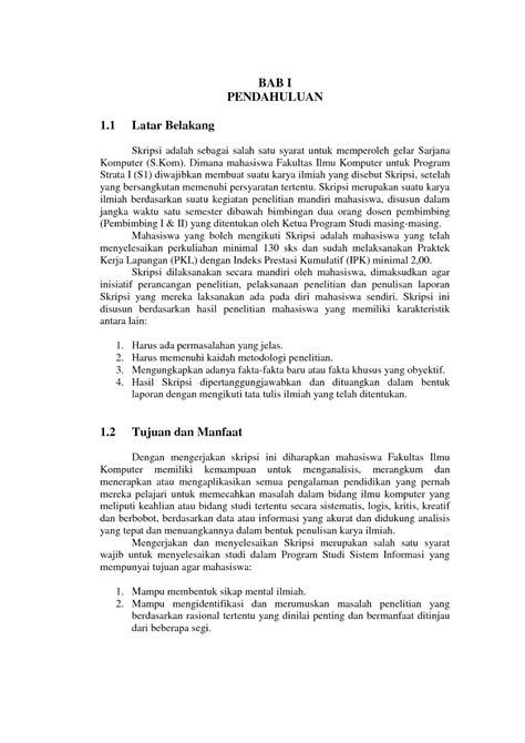 format proposal skripsi ui format proposal skripsi ui asevha blog smart and different