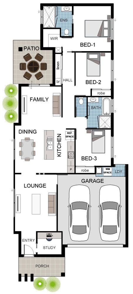 narrow block floor plans house designs suited to narrow blocks 183 grady homes