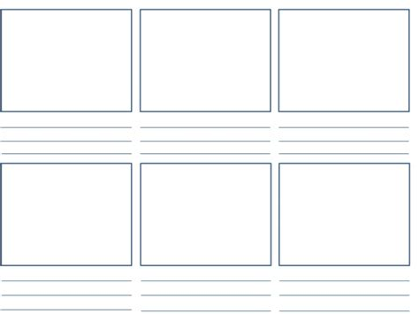 paper layout en francais storyboard template 2