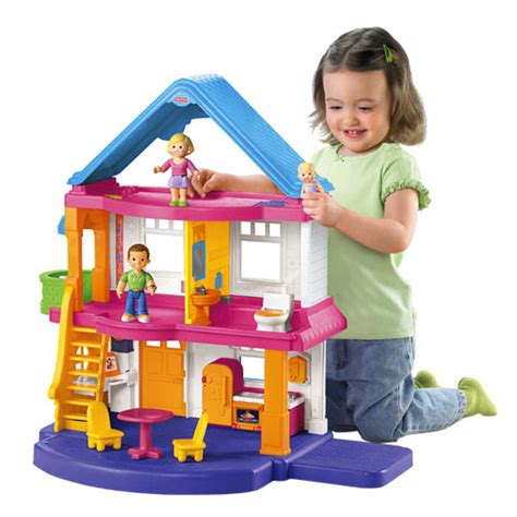 fisher price first doll house my first dollhouse caucasian family