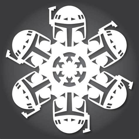 wars snowflake templates free 51 free paper snowflake templates wars style