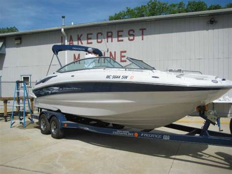 deck boat for sale michigan used deck boat boats for sale in michigan united states