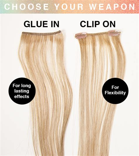 Types Of Hair Extension by How To Use Highlight And Blusher Hair Extensions Hair