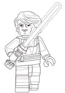 lego star wars anakin skywalker coloring page free