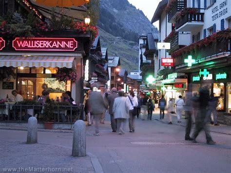 In The by Zermatt And The Matterhorn Photos The Bahnhofstrasse In