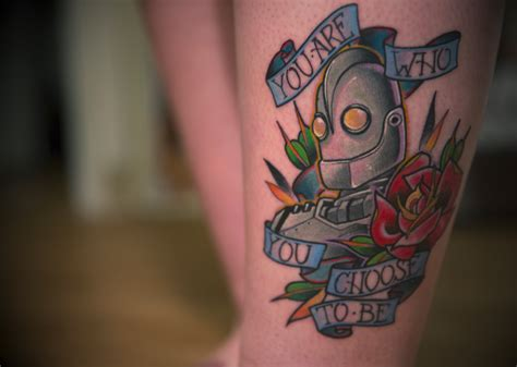 fyeahtattoos com this is my iron giant tattoo that i m