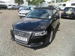 Audi A3 2009 For Sale Used Audi A3 2009 Diesel 2 0 Tdi S Line Convertible Black