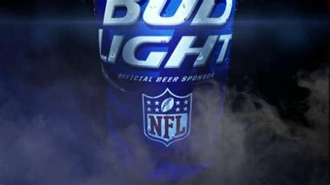 bud light football cans bud light tv spot open a can of football my team can
