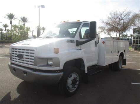electric truck for sale used 2006 chevrolet kodiak c4500 service utility truck