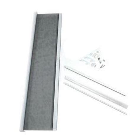 retractable screens for doors home depot odl 36 in x 80 in white retractable screen for single