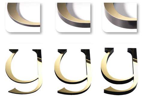 lettere ottone lettere in ottone lucido o satinato insegne italia