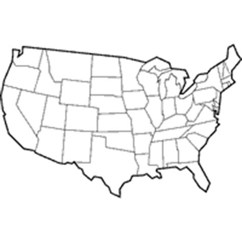 us map outline color usa outline maps 187 coloring pages 187 surfnetkids