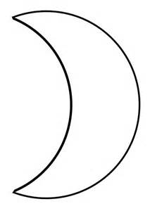 half moon coloring coloring pages