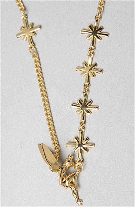Disney Couture Tinker Bell Bamboo Earrings by Disney Couture Jewelry The Tinkerbell Charm Necklace