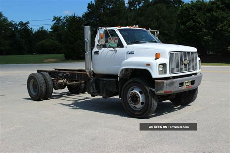 1996 chevrolet kodiak cab and chassis c7h042