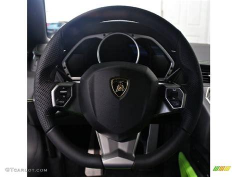 2012 lamborghini aventador lp 700 4 nero ade steering