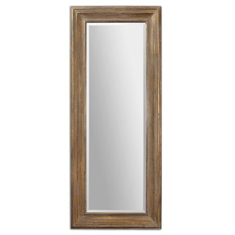 Floor Mirror by Uttermost 13849 Filiano Wood Floor Mirror 745 80