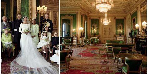 windsor castles green drawing room prince harry meghan