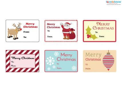printable christmas gift tag sheets printable christmas gift tags lovetoknow